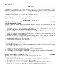 good resume objectives for administrative assistant cipanewsletter cover letter resume objective for executive assistant good