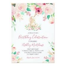 easter Bunny <b>First birthday</b>, <b>some bunny</b> Invitation | Zazzle.com ...