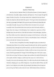 jane eyre  theme essay book report   studentsharejane eyre  theme essay