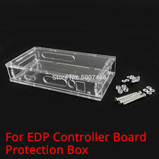 LED/LCD screen controller motherboard <b>transparent protective</b> box ...