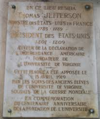 a lesson before dying writework a lesson before dying memorial plaque on the champs atilde137lysatildecopyes paris marking where jefferson lived