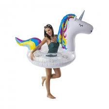 <b>Круг надувной BigMouth Unicorn</b> Glitter BMPF-0065 от <b>BigMouth</b> ...