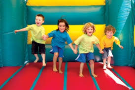 bounce house jumping