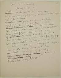 historywiz  dulce et decorum est by wilfred owenowen manuscript page