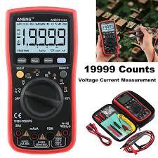 ANENG AN870 <b>19999 COUNTS</b> True-RMS Auto Range <b>Digital</b> ...