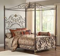 canopy bedroom sets king white curtain