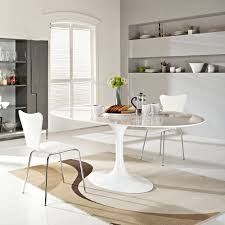 round white marble dining table: odyssey oval dining table odyssey modern oval dining table