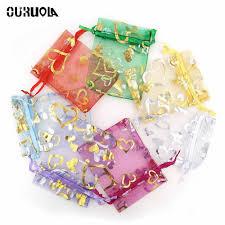<b>20pcs</b> Organza <b>Gift</b> Bag <b>Small</b> Plastic Bags Sachet Plastique ...