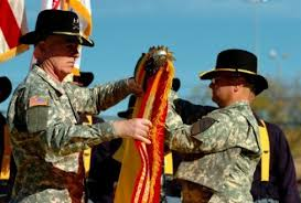 Did the <b>1st Cavalry Division</b> lose its colors? - Stripes