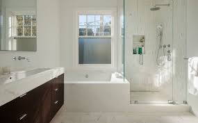 bathroom niches:  two compartments shower niche