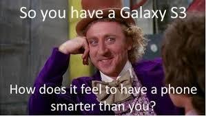 Because Samsung Galaxy S3 is Designed for Humans via Relatably.com