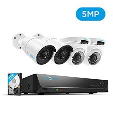 Reolink 5MP Super <b>HD</b> PoE CCTV Camera System, 4X <b>1920P</b> ...