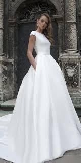 Magbridal <b>Wonderful Satin</b> Bateau Neckline A-line Wedding Dress ...