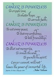Ovarian Cancer Fighter Inspirational Quotes. QuotesGram via Relatably.com