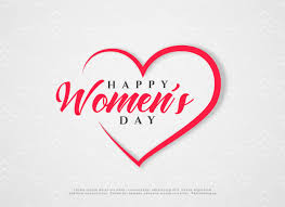 Free Vector | <b>Happy women's day</b> hearts greeting