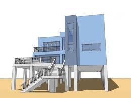 Modern Beach House On Stilts Plans Modern Beach House Interior