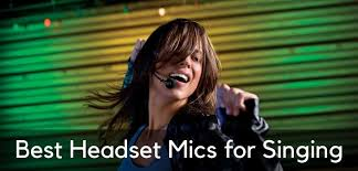 Best <b>Headset Microphones for</b> Singing – Comprehensive Guide for ...