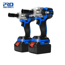 <b>21V</b> Impact Wrench <b>Brushless Cordless</b> Electric Wrench Power Tool ...