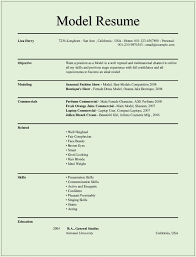 cv model for job how do you make a modeling resume how to make a job resume sample what does a modeling resume look like modeling how to make a child