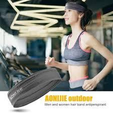 Outdoor Sport <b>Headband</b> Unisex <b>Antiperspirant</b> Band Yoga <b>Fitness</b> ...