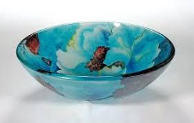 blue onyx vessel sink sinks bathroom blue leaf round vessel sink za  blue leaf round vessel sink