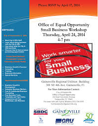 office of equal opportunity presents small business workshop office of equal opportunity presents small business workshop 24