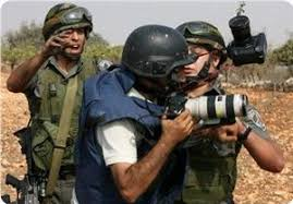 Image result for ISRAELI violations against Journalists PHOTO