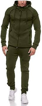 <b>Sports</b> Suit Tracksuit <b>Casual</b> 2 Piece Set Men's <b>Autumn Winter</b> ...