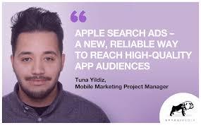 "Apple Search Ads: ""A <b>New</b>, Reliable Way to Reach <b>High</b>-<b>Quality</b> App ..."