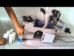 <b>Semi</b>-<b>automatic Round</b> Bottle Labeler Labeling machine for <b>Round</b> ...