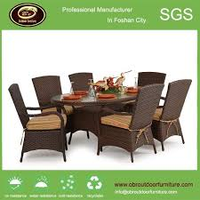hotel furniture dinning table set outdoor rattan furniture table and chair products obr outdoor rattan furniture aluminum wicker garden set rattan table china outdoor rattan garden