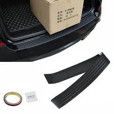 <b>Car</b> SUV <b>Rear</b> Bumper Sill/Protector Plate Rubber Cover Guard Pad ...