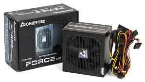 Обзор <b>блока питания Chieftec CPS</b>-500S серии Force и ...