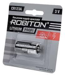 <b>Батарейка ROBITON</b> Lithium Profi <b>CR123A</b> — купить по выгодной ...