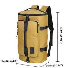 Men Travel Bag <b>40L High Capacity Backpack</b> Water Repellent ...