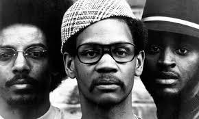 The Last Poets in 1970, left to right, Umar Bin Hassan, Jalal Mansur Nuriddin and Abiodun Oyewole. Photograph: GAB Archive/Redferns. One day last December, ... - Photo-of-LAST-POETS-006