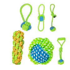 <b>Funny Pet Dog Cat</b> Toys Rope Knot Playing Ball Chew Bite ...