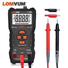 <b>LOMVUM</b> Digital Multimeter Auto Ranging 6000 Counts Display ...
