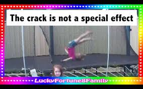 WORST gymnastics TRAMPOLINE ACCIDENT to <b>7</b> y/<b>o girl</b> on ...