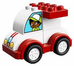 <b>Конструктор LEGO DUPLO</b> My First 10860 <b>Мой</b> первый гоночный ...
