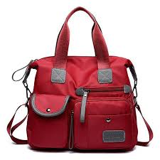 Women <b>Nylon Waterproof Large</b> Capacity <b>Handbag</b> Shoulder <b>Bag</b> ...