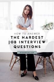 best ideas about interviewing tips interview this is exactly how to answer 5 impossible interview questions