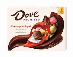 Набор <b>конфет Dove</b> Promises ассорти 118г - купить с доставкой в ...