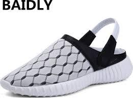 Big Size <b>Men</b> Sandals Summer <b>Breathable Air Mesh Men</b> Lighted ...