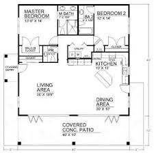 ideas about Small House Plans on Pinterest   House plans    Spacious Open Floor Plan House Plans   the Cozy Interior   Small House Design Open Floor