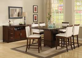 finish dining room pedestal table modern glass counter height dining room