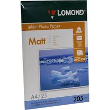 <b>Бумага Lomond</b> Photo Paper 0102124 — купить, цена и ...