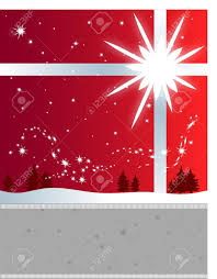 winter holiday flyer background a bright star and snowflakes stock photo winter holiday flyer background a bright star and snowflakes