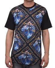 Полиэстер <b>футболки Crooks & Castles</b> для мужчин с графическим ...