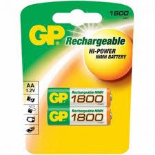 <b>Аккумулятор Ni</b>-<b>MH</b> GP 180AAHC-2CR2, <b>1800мАч</b>/АА - Интернет ...